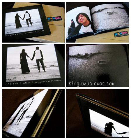 Photobook Honeymoon kitorang... :D