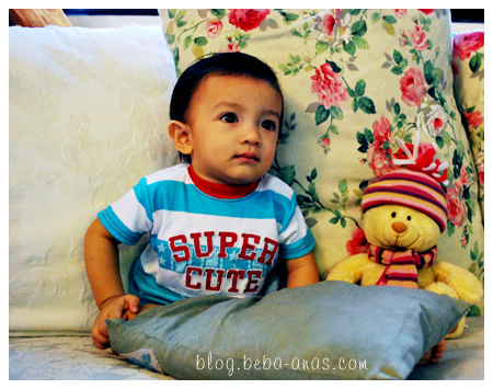 Alif and Mr. Bear