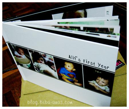 Alif's 1st Year Photobook