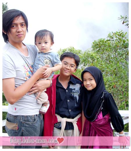 family visit - kinabalu park