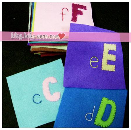 ABC felt book