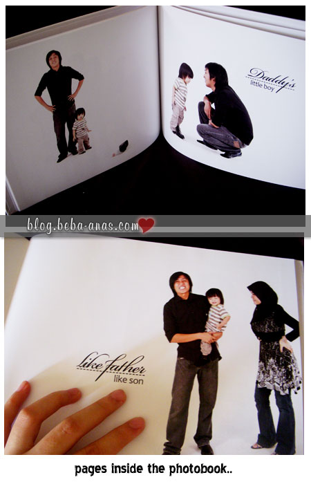insides of the photobook