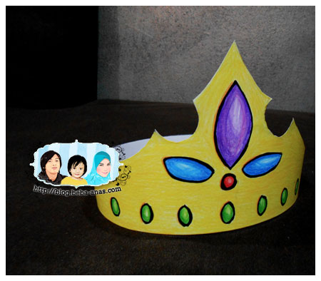 King Alif's crown