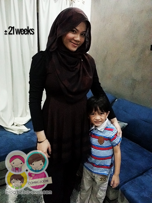 little p - @ 21 weeks kot..