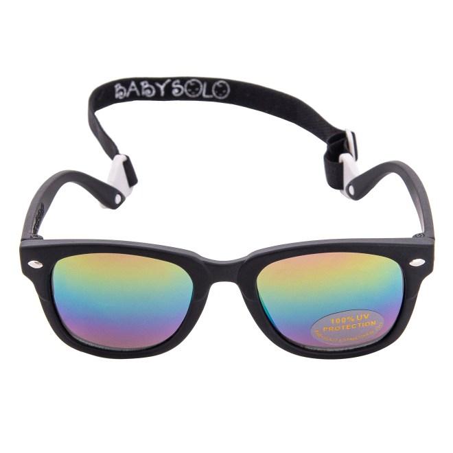Baby Solo BabyBoo Master Matte Black Frame Rainbow Mirror Lens 1
