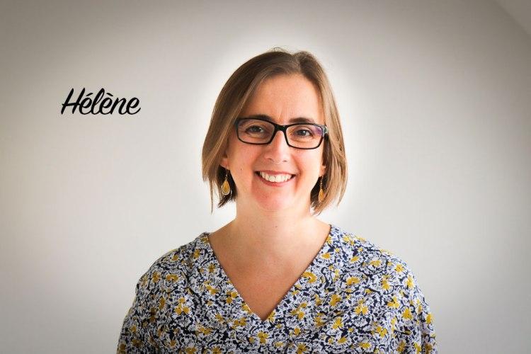 Hélène, éducatrice de jeunes enfants creche Bébé Breizh Montessori.