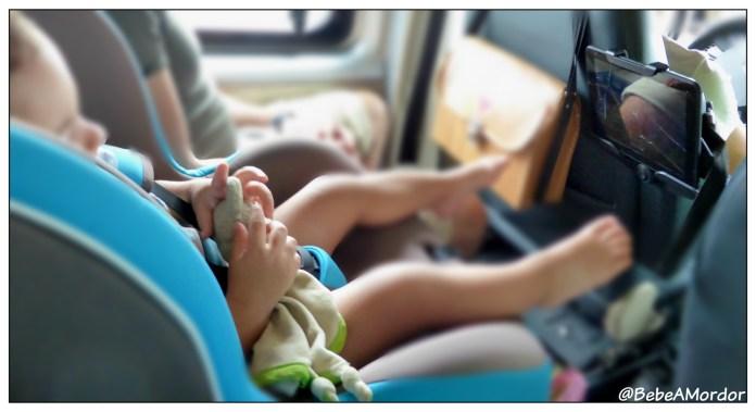 viajar con niños en coche