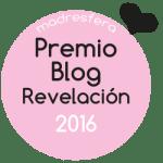 Premio Blog Revelación Madresfera 2016
