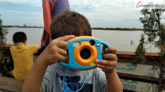 cámara de fotos niños