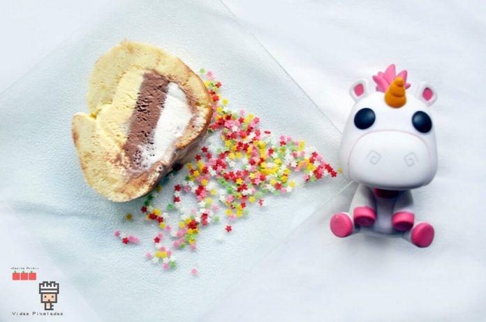 relleno helado unicornio gru