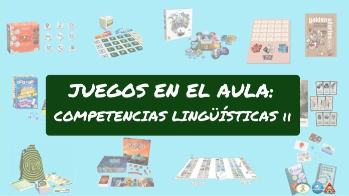 Efectp Lúdico Juegos de mesa para la asignatura de lengua