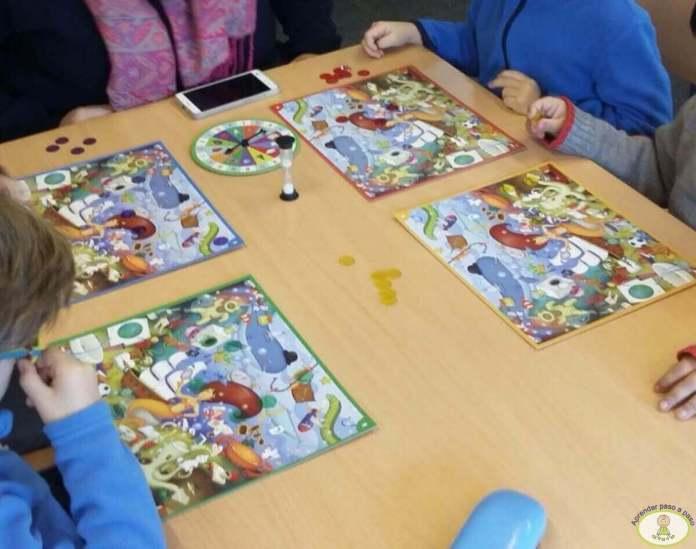 juegos en el aula Infantil Kaleidos Junior