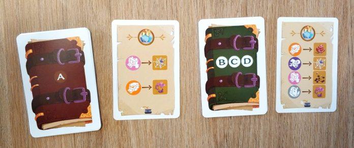 cartas de misión Magic Make Kids