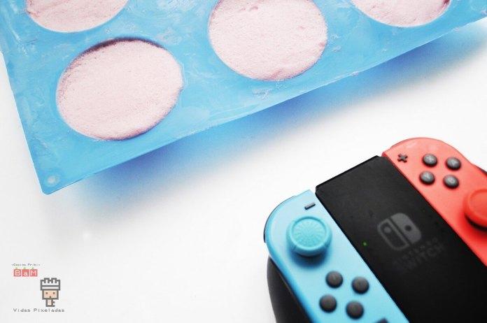 esferas de Chocolate rosa Kirby