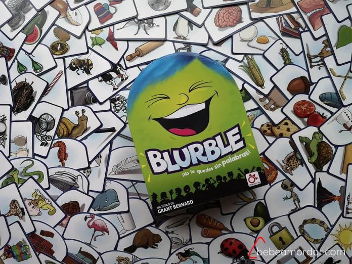 caja juego de mesa Blurble