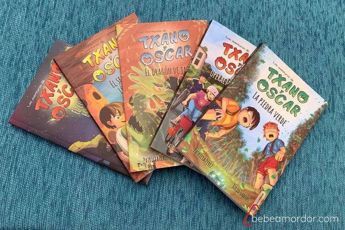 5 libros de txano y oscar