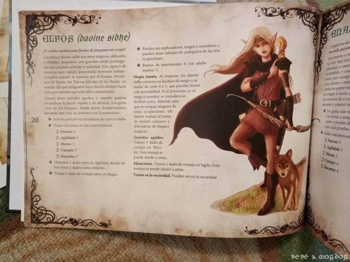 raza elfo de Magissa