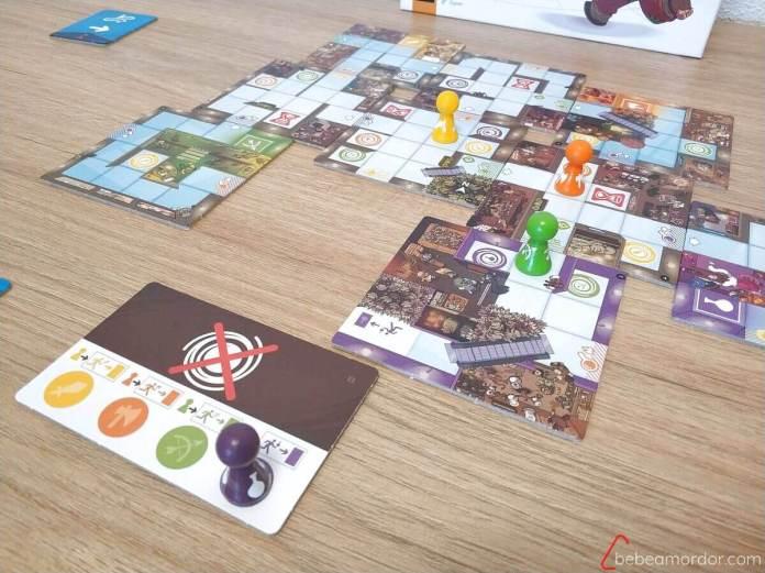 jugadores yendo a la salida en magic maze