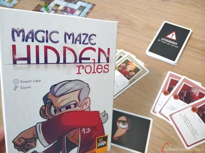 expansión de Magic Maze: Hidden Roles