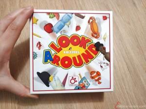caja juego de mesa Look Around