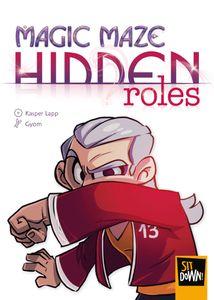 portada caja expansión de Magic Maze: Hidden Roles