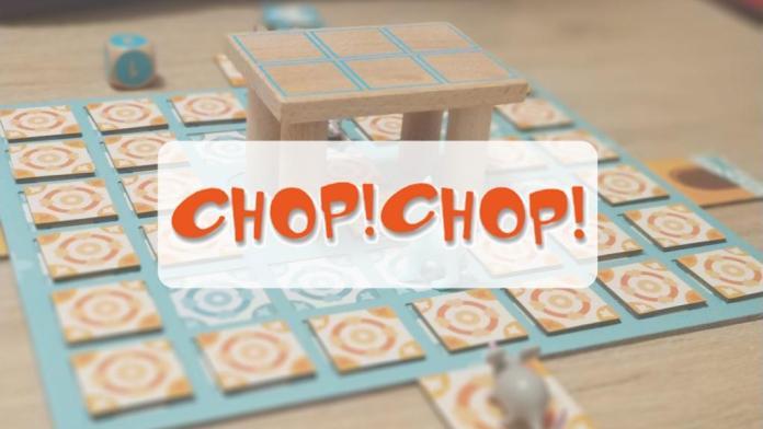 reseña cómo se juega juego de mesa Chop Chop Djeco p