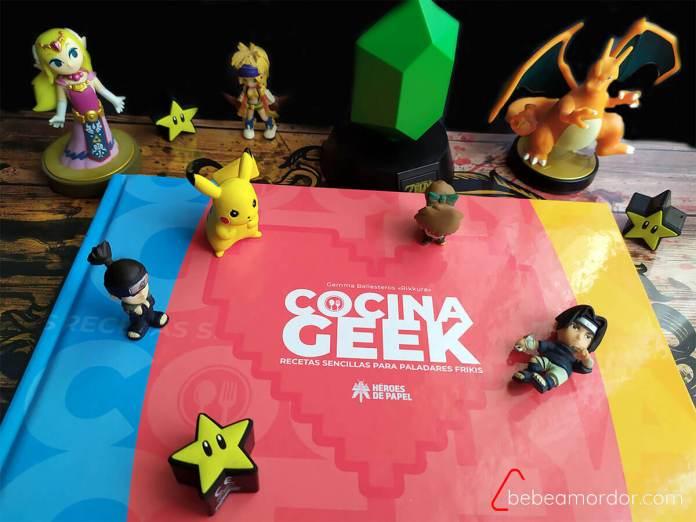 Portada del libro Cocina Geek de Rikkura