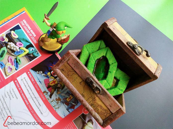 galletas de Link Zelda cocina geek de Rikkura