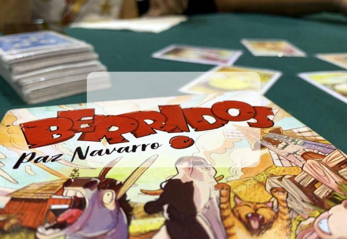 portada reseña juego de mesa Berridos