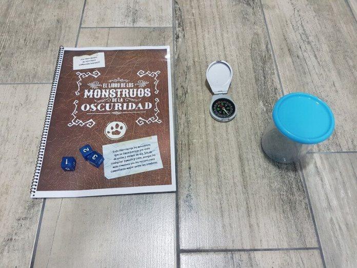 material del director de juego de rol en vivo aventura de ejemplo de Pequeños Detectives de Monstruos