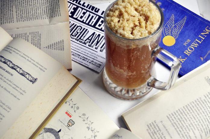 cómo hacer cerveza de mantequilla de Harry Potter receta