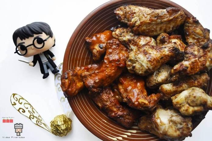 receta alitas de pollo potterianas