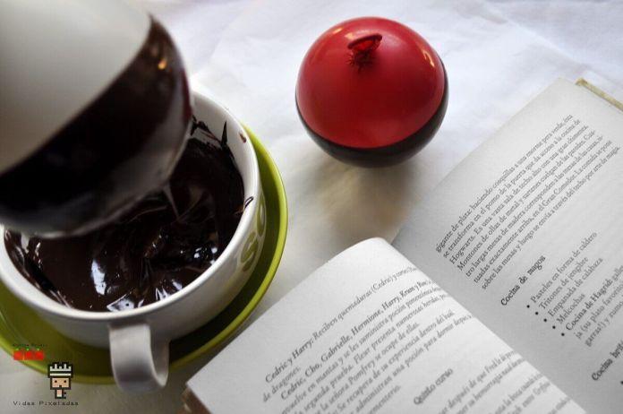 paso 1 caldero de chocolate Harry Potter