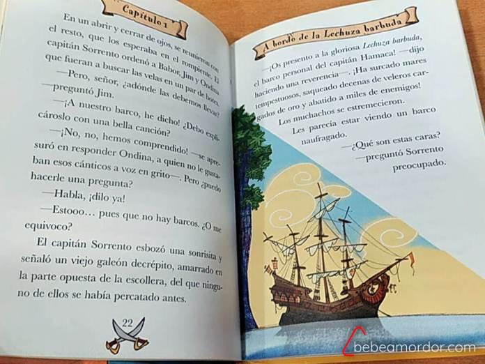 libro Escuela de Piratas
