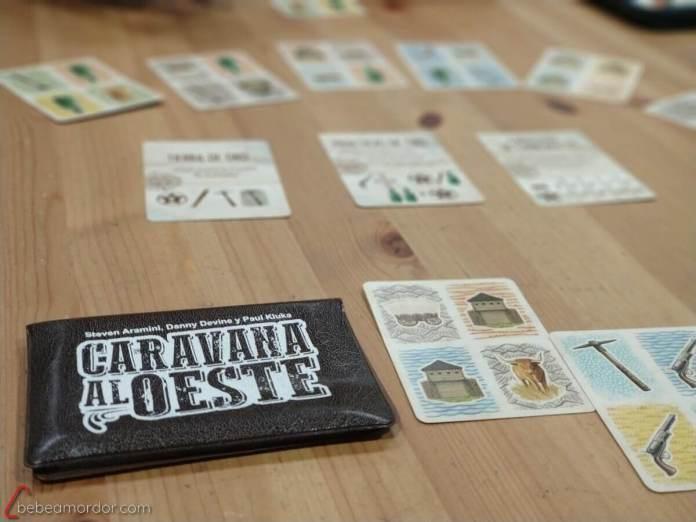 juego de mesa imprimible gratuito Caravana al Oeste
