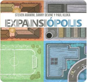 portada visual juego de mesa Expansiopolis