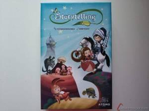 caja juego Storytelling Átomo