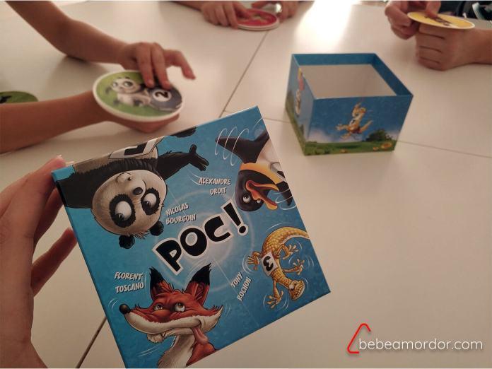Colocación puños equidistantes juego de mesa Poc!