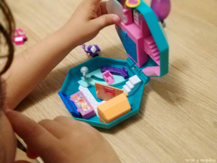 niño con Cofre Perfume Spa Polly Pocket