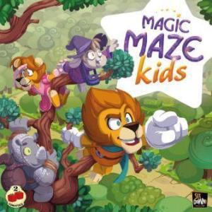 portada del juego de mesa Magic Maze Kids con personajes de fantasía