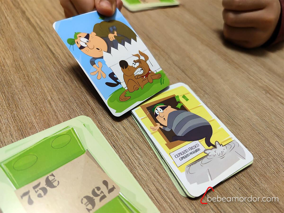 juego de mesa Ladrón torpón