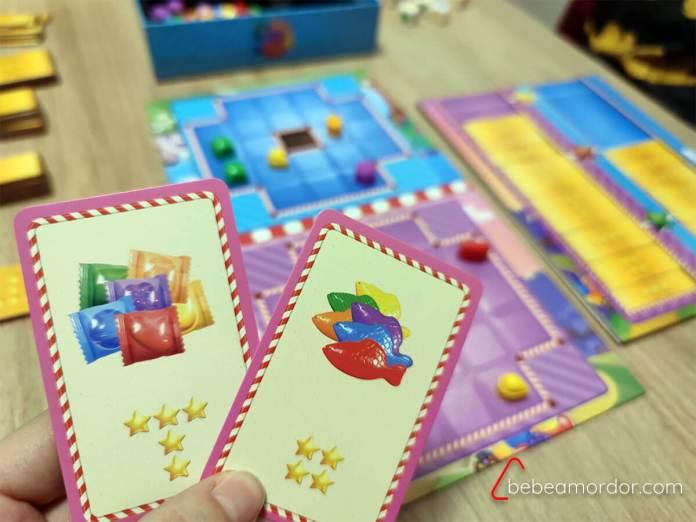 Cartas de acción Candy Crush Duel