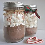 DIY – Hot Cocoa Mason Jars and Homemade Cookies