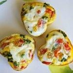 Valentine Breakfast: Heart-Shaped Egg Muffins