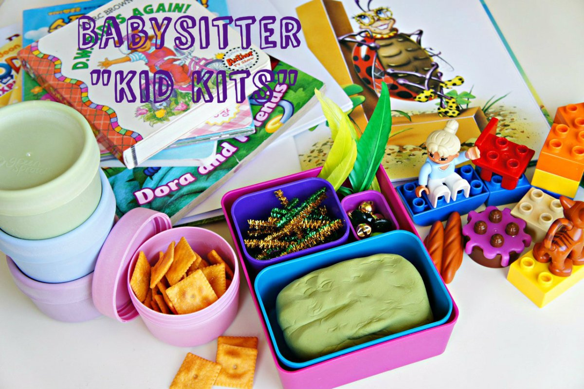Babysitter 'Kid Kits'