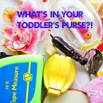 What's In Your Toddler's Purse?!