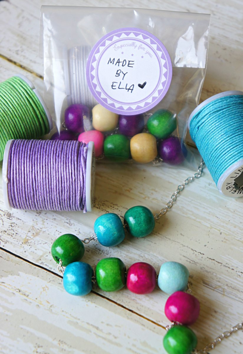 Fun DIY Gumdrop Bead Necklaces