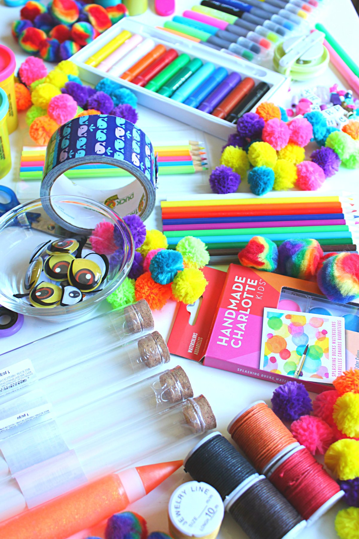 Easy and effective Kids Arts and Crafts Organization Ideas