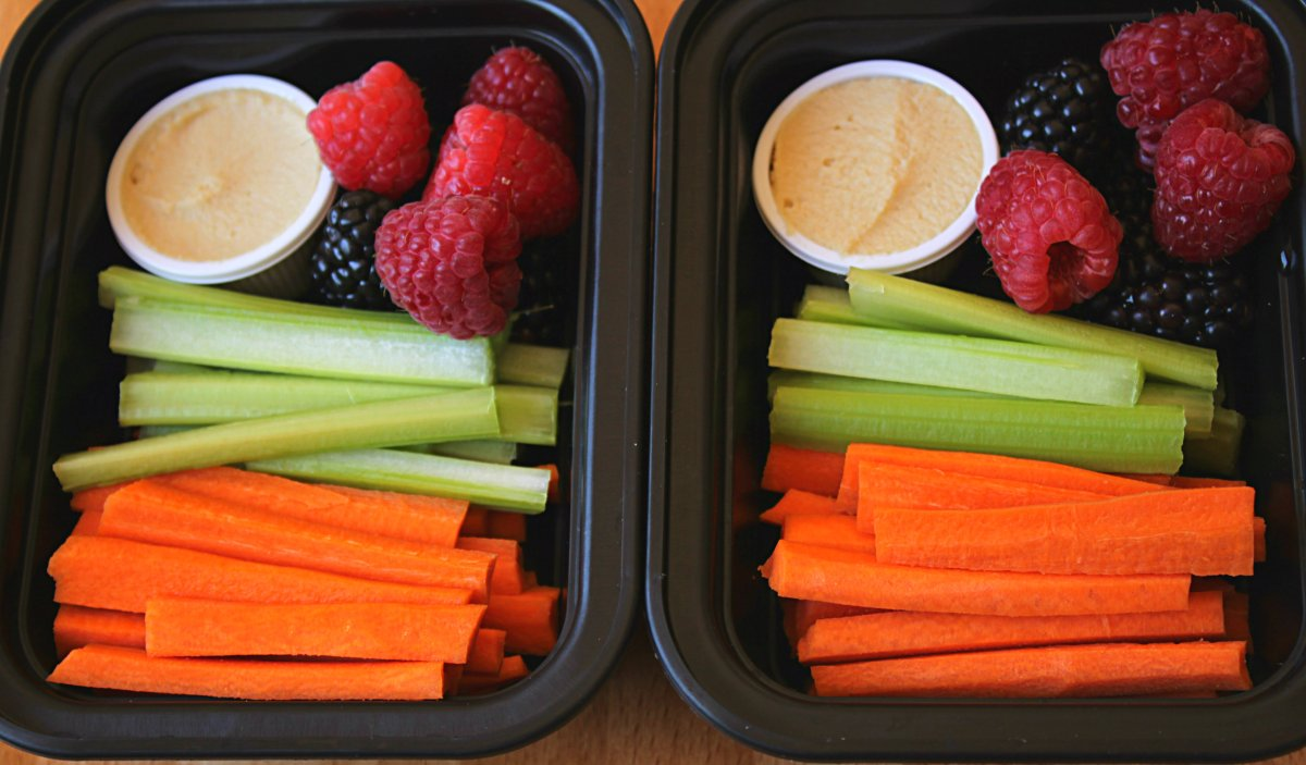 Healthy Snack Prep for You AND Your Kids
