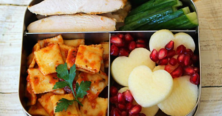 Bento Lunch Box: Mini Ravioli